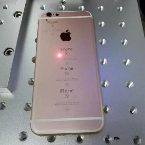 Individual Laser Marking on Phones