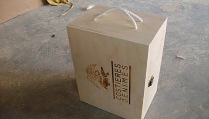 laser engraving paper packing box