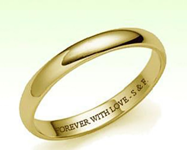 Laser Marking Engraving on Jewelry