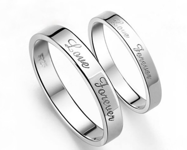 Laser Marking Engraving on Jewelry Rings