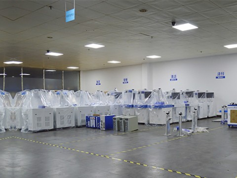 Mactron Tech Laser Machines Warehouse