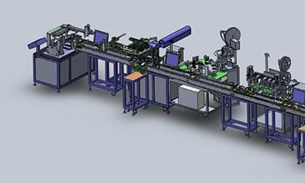 Online Laser Marking Machine Combined with Automatic Assembly Line