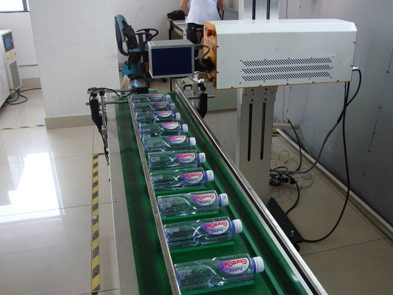 Online Laser Marking Machine for Marking Date for Beverage