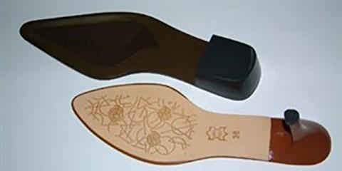 shoes laser marking