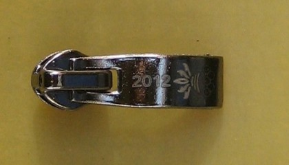 word engraved by laser marking and engraving equipment