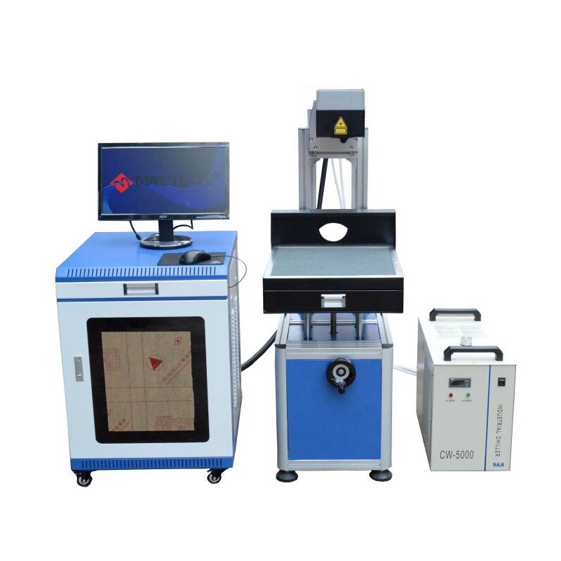 Co2 100W Glass Laser Tube Marking Engraving Machine