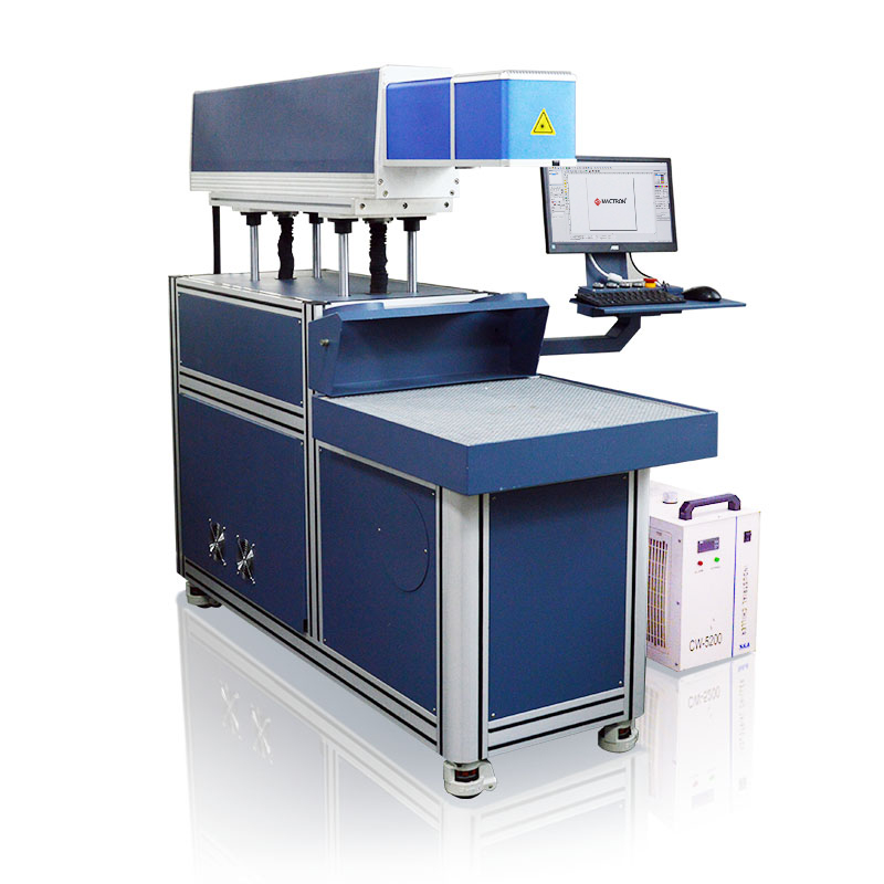 Co2 3 Axis Laser Marking Engraving Machine