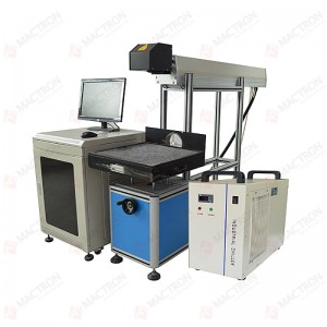 100W Co2 Glass Laser Tube Marking Engraving Machine for Wood