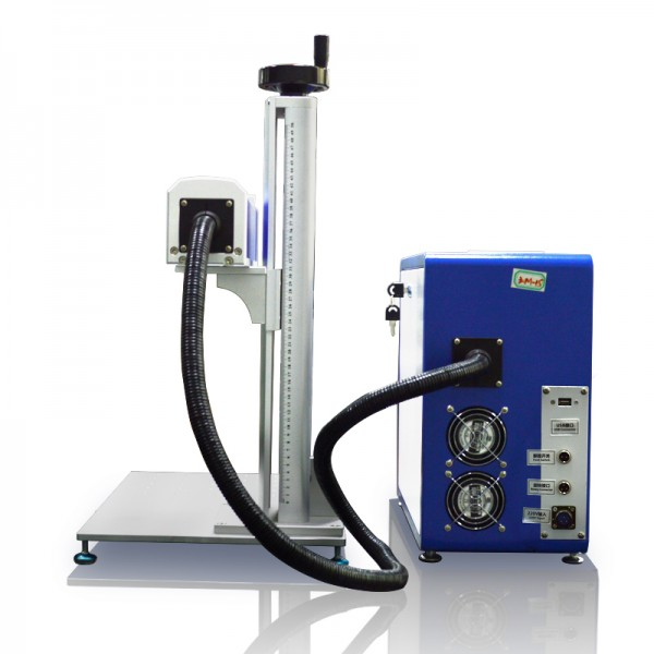 Desktop Split Fiber Laser Marking Machine Back View