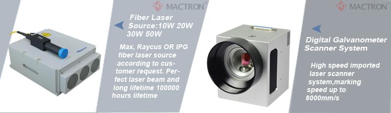 20w fiber laser marking machine details introduction1
