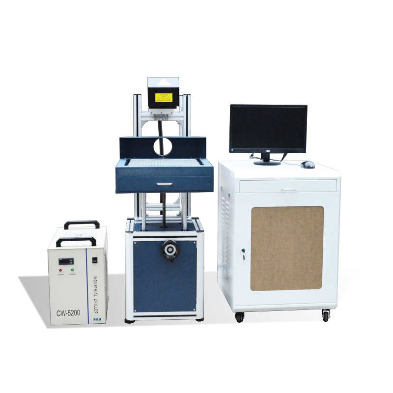 30W Glass Co2 Laser Marking Engraving Machine