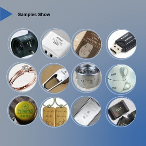 Application Samples Processed by Fiber Laser Marking Machine