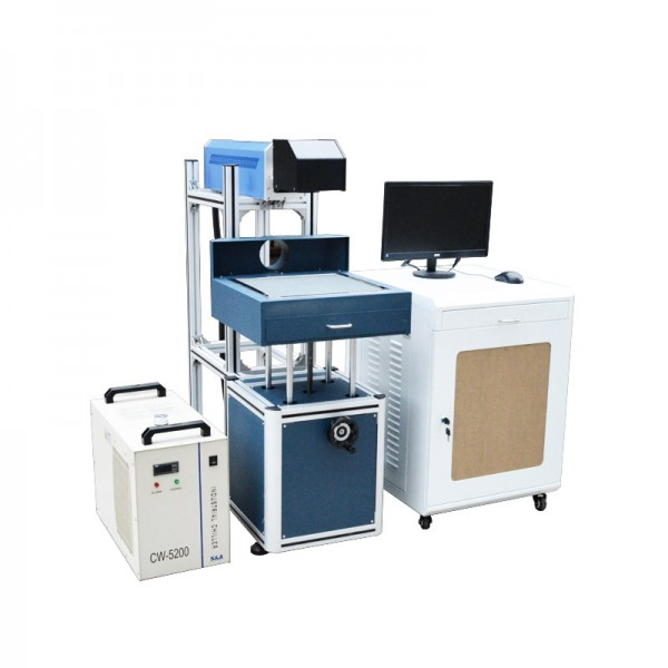 Co2 Glass 30W Laser Marking Machine System