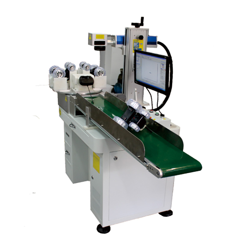 Customized Auto Feed Laser Marking Machine System