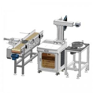 Customized Bearing Auto Laser Marking Machine System