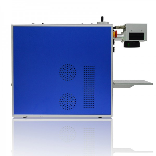 Integrated Fiber Laser Marking Machine Side View