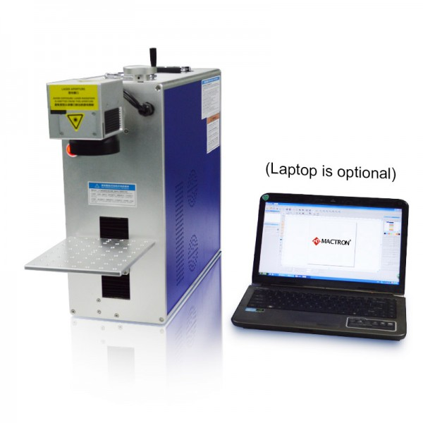 Integrated Portable Laser Fiber Marking Machine System