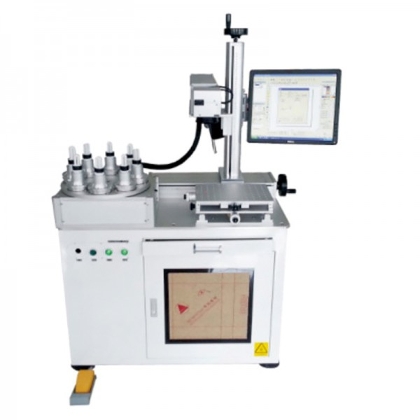 LED Lamp Auto Laser Marking Machine System