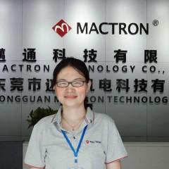 Lily Zhang of Mactron Tech