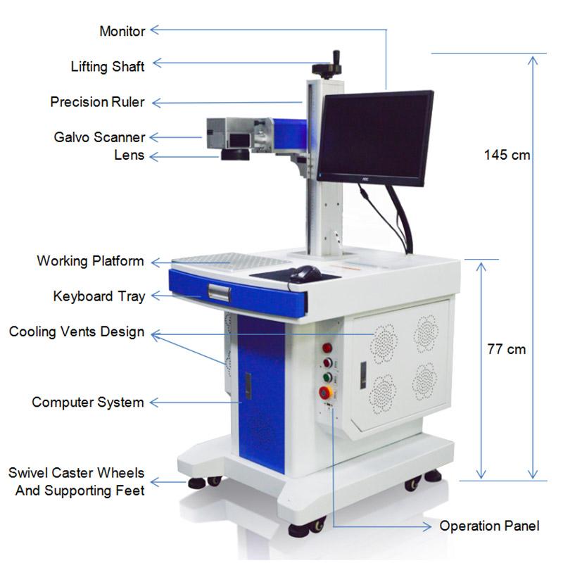 Fiber Laser Marking Engraving Machine | Mactron Tech