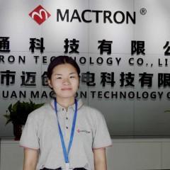 Miss Guo of Mactron Tech