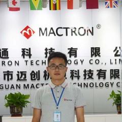 Mr Zhao of Mactron Tech