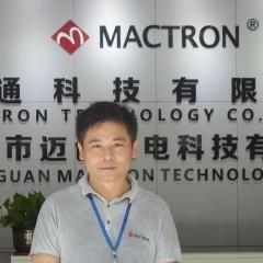 Mr. Zhao of Mactron Tech
