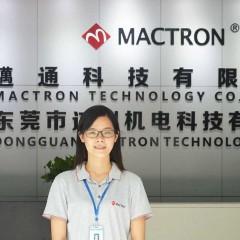 Mrs Huang of Mactron Tech