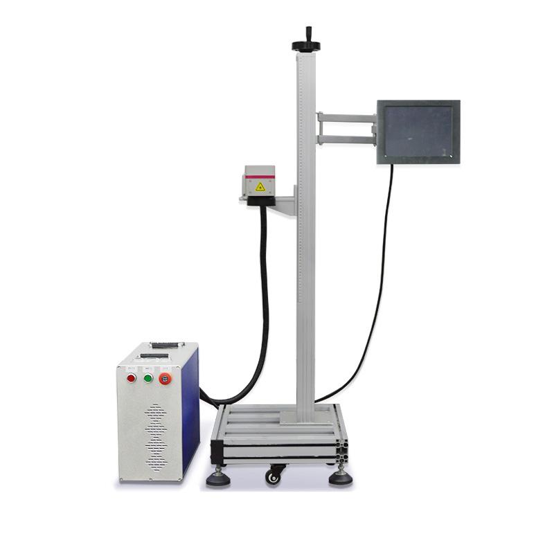 Flying Fiber Laser Printing System