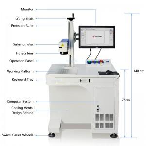 Mactron Fiber Laser Marking Machine System