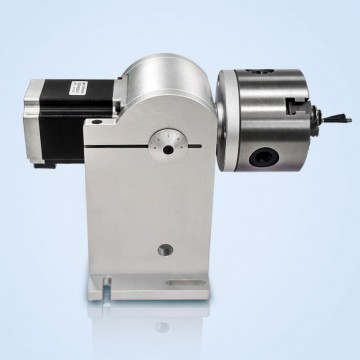 Rotary Attachment of Fiber Laser Marking System