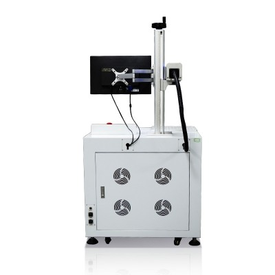 Fiber Laser Marking Machine System Mactron Back View