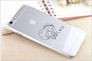 Laser marking custom pattern on phone case