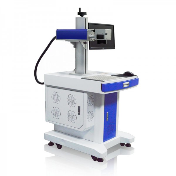 Mactron Fiber Laser Marking Machine 30W 45 Dgree Side View