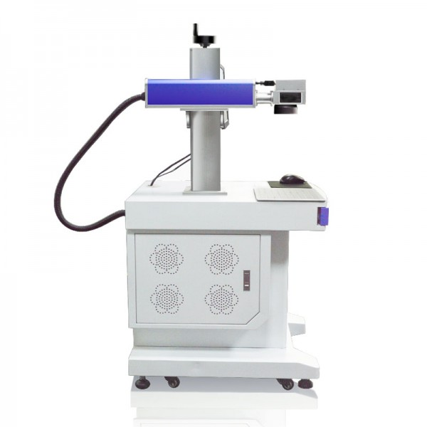 Mactron Fiber Laser Marking Machine 30W Side View