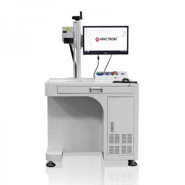 Mope Fiber Laser Marking Machine System Frontview