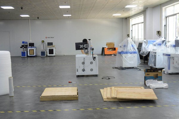 Prepare Fiber Laser Machine Packing Materials