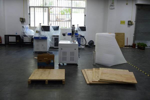 Prepare Fiber Laser Machine Packing Materials