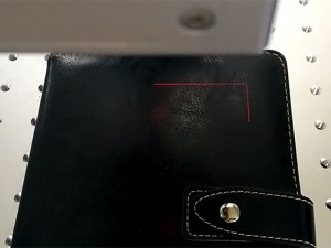 Red Light Positioning Function Installed on Co2 Laser Marker Engraver