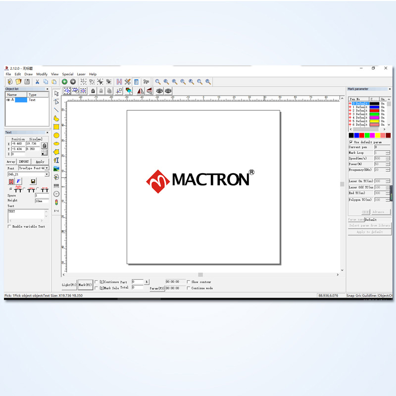 30W Fiber Laser Marking Machine System | Mactron Tech