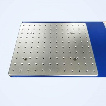 Working Platform of Fiber Laser Marker System