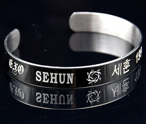 Bracelet Engraved by Laser Marking Engraving Machine