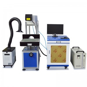 60W Co2 RF Laser Marking Engraving Machine for Wood