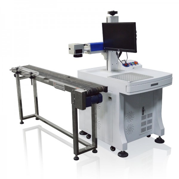 Flying Fiber Laser Marking Printing Machine 30W