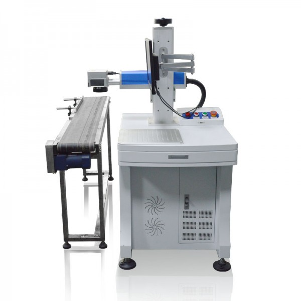 Flying Fiber Laser Marking Printing Machine