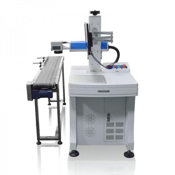 Flying Fiber Laser Marking Printing Machine