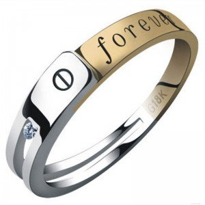 Jewelry Ring Engraved by Laser Engraving Hallmarking Machine
