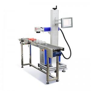 High Speed IPG Fiber Laser Marking Machine