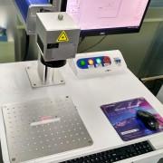 Laser Marking Engraving Machine Marking on Aluminum