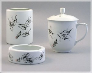 Laser Marking Engraving on Ceramics